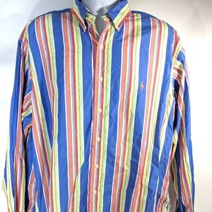 Ralph Lauren Classic Fit Multi-Colored XXL Stripe